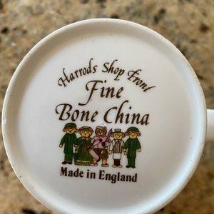 Harrod's Shop Front tea/coffee cup Vintage